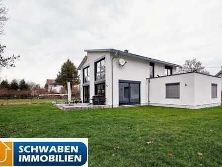 MODERN & EFFIZIENT: Einfamilienhaus mit großem Grundstück in idyllischer Lage Fellheims zu verkaufen