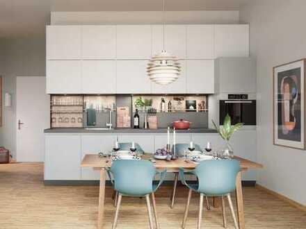 Moderner Schnitt, praktische Aufteilung! 1-Zimmer-Apartment auf ca. 40 m² Wohnfläche mit Balkon