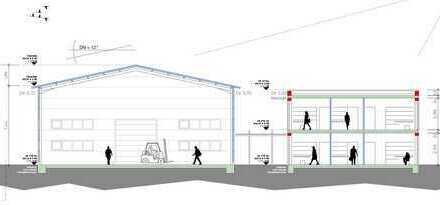 Mieter gesucht; Es entsteht eine neue Multifunktionshalle mit 750qm nebst Bürofläche mit 260 qm,