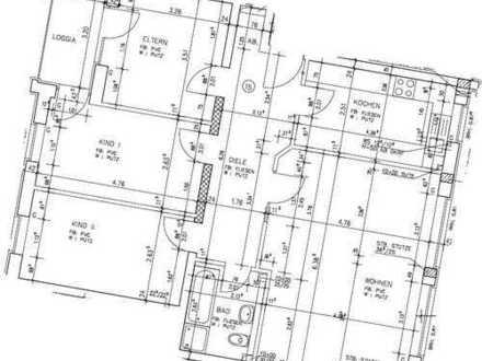 *Schöne 4-Zimmer Wohnung am Nordpark zu vermieten*