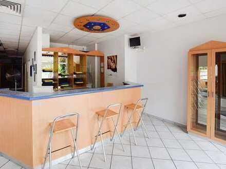 Sonnenstudio sucht neuen Betreiber! Ca. 169 m² große, voll eingerichtete Ladenfläche