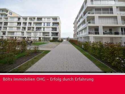 Im 1. Monat mietfrei ! Tolle 2-Zimmer Wohnung in Südlage mit Wasserblick in der Überseestadt