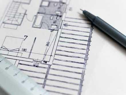 Mehrfamilienhausgrundstück mit genehmigtem Bauantrag für Bauträger