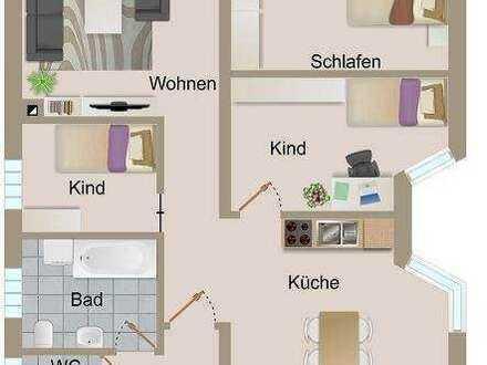 4 Zimmer-Erdgeschosswohnung mit Carport und Garten in zentraler Lage von Knittelsheim