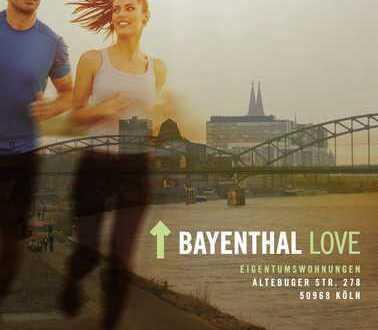 Bayenthal Love! 2-Zimmer-Wohnung in der Alteburger Str. 278 in Köln zum Verkauf*NEUBAU*