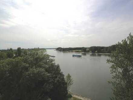 Rheinblick - zwei zusammengelegte Wohnungen in Porz !