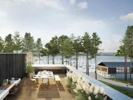 Wohn(t)raum im Penthouse auf ca. 224 m² mit wunderbarem Ausblick auf den Scharmützelsee!