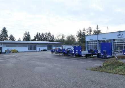 """""""Das Richtige für Ihren Erfolg"""" Vier Lagerhallen mit Wohnhaus und viel Potential in Julbach"""
