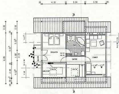 Schönes, geräumiges Haus mit fünf Zimmern in Karlsruhe, Hohenwettersbach