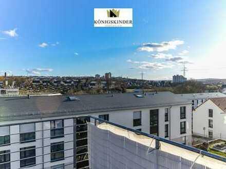 Elegante u. Moderne 4-Zi.-Wohnung - ruhige Lage - große Dachterrasse - herrlicher Ausblick