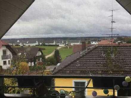 4,5 Zimmer Dachgeschosswohnung in Gamerschwang