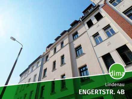 ERSTBEZUG | Traumhafter Gem.-Garten am Karl-Heine-Kanal, Balkon, Wanne + Dusche, Dachgeschoss