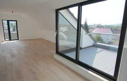 Erstbezug nach Sanierung mit Balkon und : ansprechende 2-Zimmer-Dachgeschosswohnung in Aschaffenburg