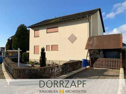 Bellheim: Solides Einfamilienhaus mit Garage