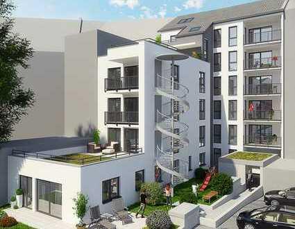 2-Zimmer Neubauwohnung mit 2 Balkonen im 1.OG