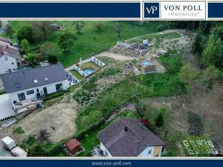 VON POLL: NEUER PREIS! Großes Baugrundstück in Südhanglage