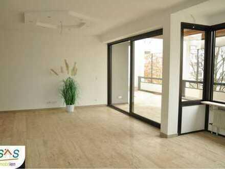 Zentrale 5 - Zimmer Terrassenwohnung direkt am Rathausplatz, Erstbezug nach Sanierung!