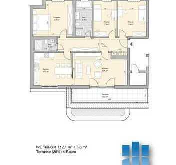 LiVING Salomon - Start - Zauberhafte Dachgeschosswohnung, 4 Zimmer und Terrasse 18a 601