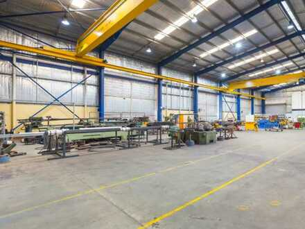 Lager-/ Produktionshalle mit 3.000 m² | RUHR REAL