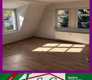 3-Raum Wohnung mit guten Grundriss - DG in stilvollem Gebäude!