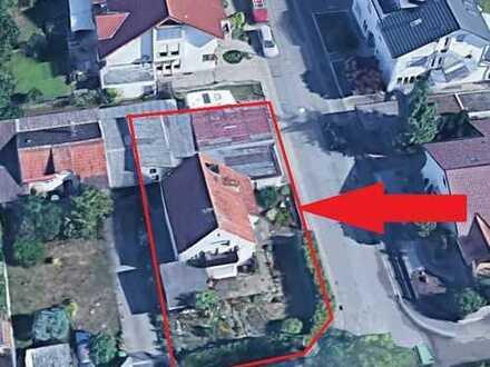 Abbruchhaus auf einem 429m² Grundstück in sehr guter Lage