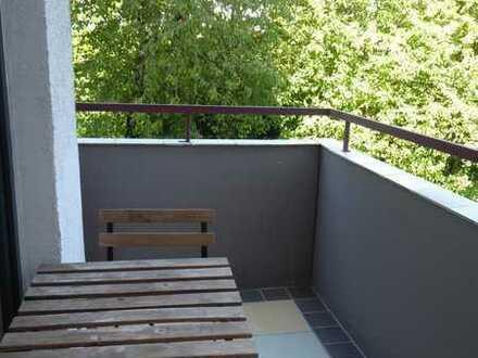 1-Zimmer-Wohnung - Uni Nähe zum Eselsberg mit Einbauküche und Balkonlaustein