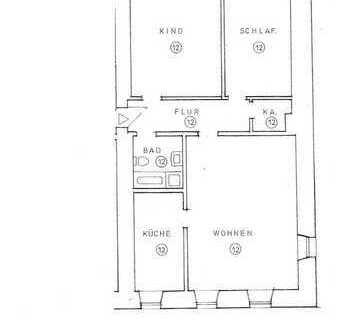 Erstbezug nach Sanierung: exklusive 3-Zimmer-Wohnung mit EBK im Herzen der Altstadt von Regensburg