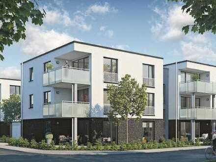 Großzügige Erdgeschoss-Wohnung mit Terrasse und Gartenanteil