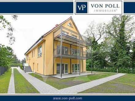 Exklusives Wohnen am Kurpark - behindertengerechte 2 Zimmer Erdgeschosswohnung