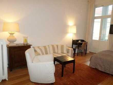 Exkl. möbliertes Luxus-Apart. mit Blk.,1A Lage in Rotherbaum/Nähe Hotel Elysee!