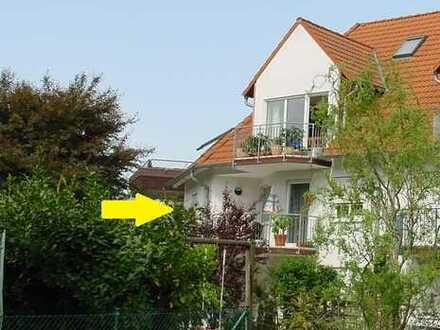 Feldrandlage Nord-West-Stadt - Attraktive 3-ZKB Wohnung mit Balkon im 3-Familienhaus