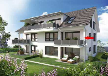 Exklusive Neubau-Wohnung in Zentrumsnähe von Winnenden zum Mieten