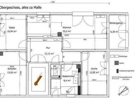 Gemütliche 3,5-Zimmer-Wohnung im 1 OG mit Wintergarten in Heusenstamm