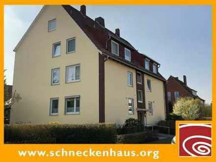 Bremen-Nord, Rönnebeck! Ideale Oberwohnung mit riesigem Süd-Balkon und Garage!