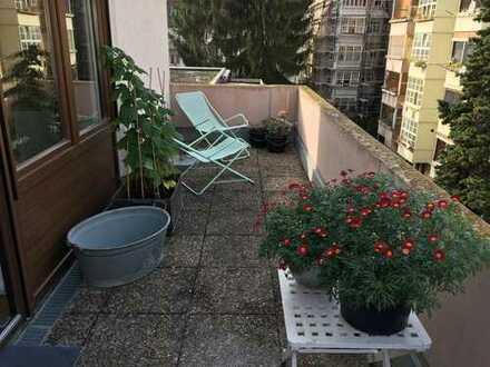 2-ZimmerWG mit 2 Balkonen auf Zeit