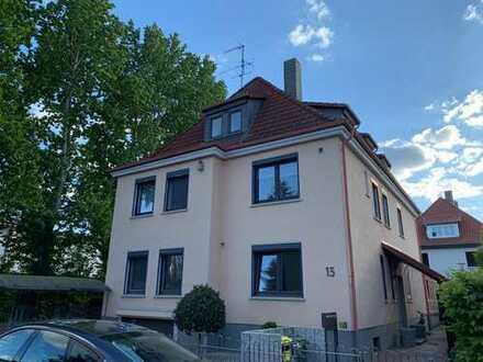 schöne 3 Zimmer Maisonette Wohnung mit Dachterrasse in Traumlage im östlichen Ringgebiet