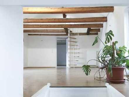 Großzügige Maisonette-Wohnung in verkehrsgünstiger Lage, Garten + Garage + Keller