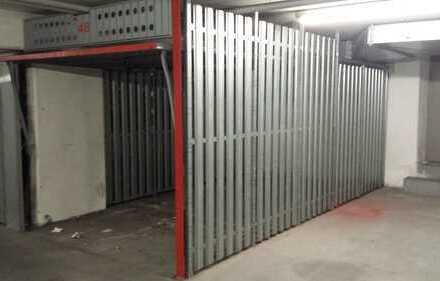 Einzlen abgeschlossene Tiefgaragenbox
