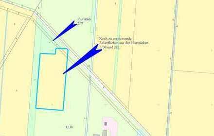 Ackerland im Bereich Bösel-Overlahe, 21.803 m² (Vermessung noch erforderlich)