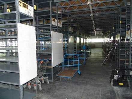 Lagerläche mit Regalsystem in Magstadt