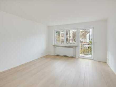 Bestes Gern provisionsfrei - hochwertig neu renovierte 3-Zi-Wohnung mit 2 Balkonen u. Gartennutzung