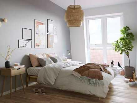 Provisionsfrei: 2-Zimmer-Neubauwohnung mit Loggia und offenem Grundriss