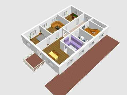 Etagenwohnung im Sanierungszustand, Wünsche noch realisierbar!