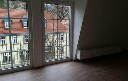 Geräumige, vollständig renovierte 1-Zimmer-DG-Wohnung in Ilmenau