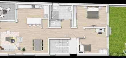 Moderne 3 ZKB Neubau-Eigentumswohnung (EG, Barrierefrei) in zentraler Lage