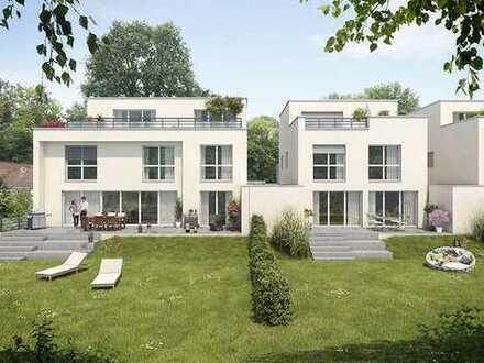 Großzügiges Einfamilien-Kettenhaus mit Garage und großem Südgarten