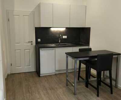 Erstbezug nach Sanierung: Möblierte 1-Zimmer-Wohnung mit EBK in Mainz