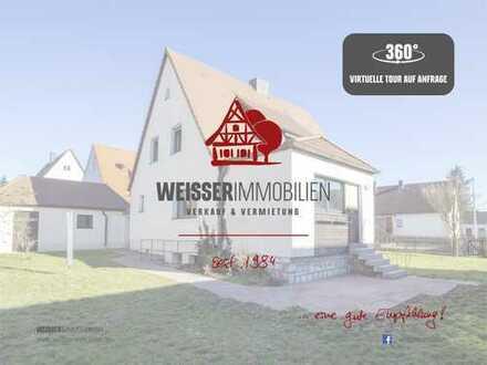 Freistehendes Ein-/Zweifamilienhaus mit Entfaltungsmöglichkeiten im Osten Nürnbergs