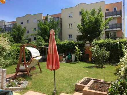 Schicke 3-Zimmer-EG Wohnung mit Gartenparadies
