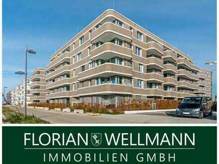 Bremen - Überseestadt | Charmante und neuwertige 3 Zimmerwohnung mit wunderbarem Weserblick